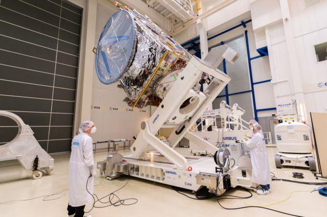 "Juice machine (JUpiter ICy moon Explorer, or ""Jupiter's Ice Moons Explorer"")"