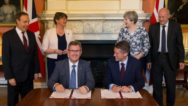 Theresa May's DUP-Tory deal criticised as 'shabby and reckless'