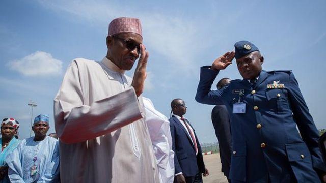 Muhammadi Buhari, président Nigeria