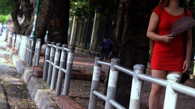 Hoạt động mại dâm vẫn diễn ra ở Việt Nam dù bị coi là bất hợp pháp