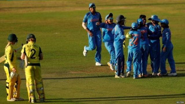 ऑस्ट्रेलिया के ख़िलाफ भारतीय टीम