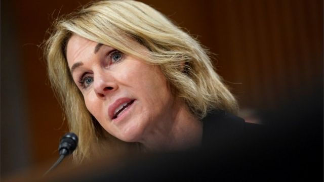 Trump UN pick Kelly Craft breaks with White House on climate change