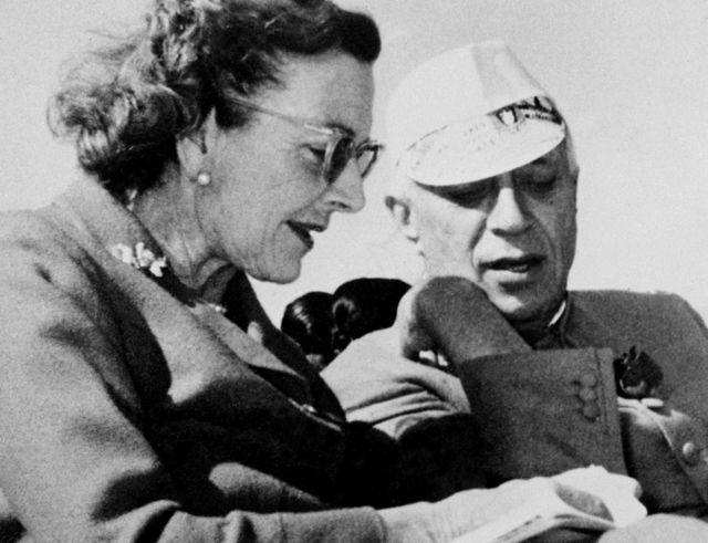 जवाहरलाल नेहरू और लेडी माउंटबेटन