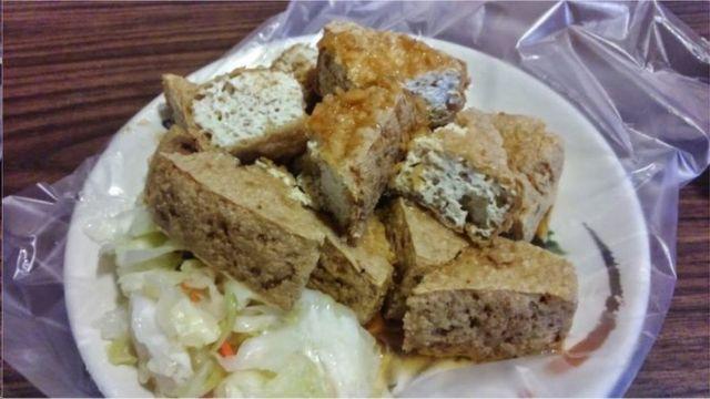 台湾小吃臭豆腐(photo:BBC)