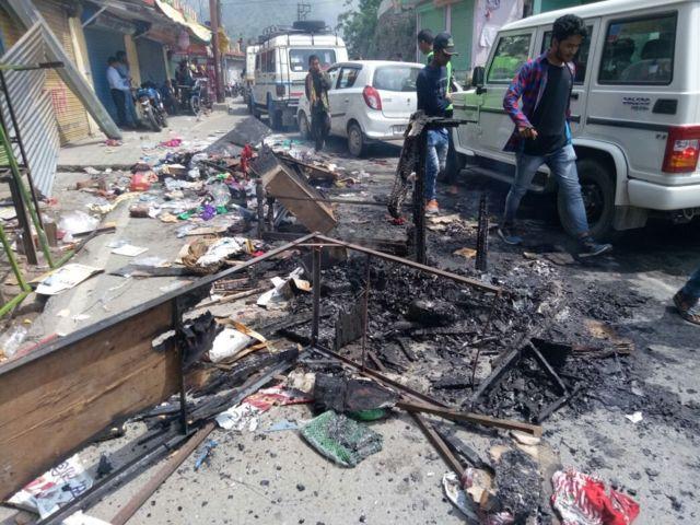 अगस्त्यमुनि में हिंसा