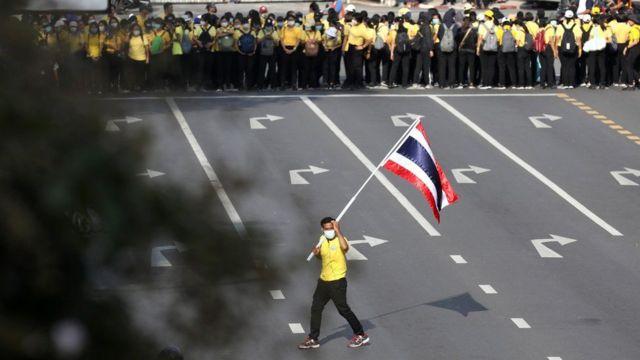 Unjuk rasa, Thailand, raja