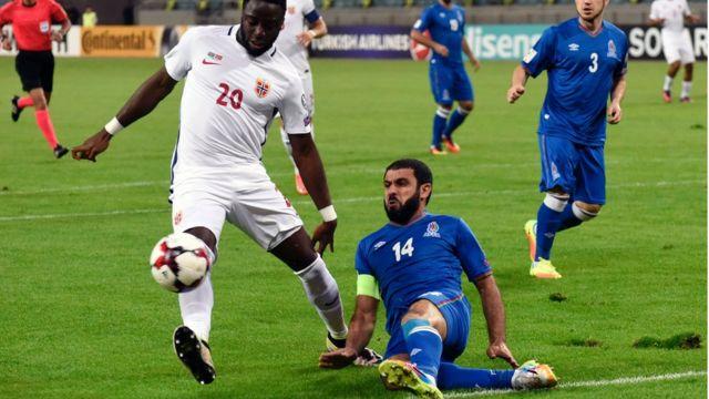 Azərbaycan - Norveç oyunu