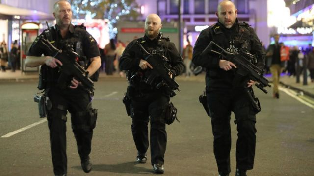Police forces use new terror stop and search powers