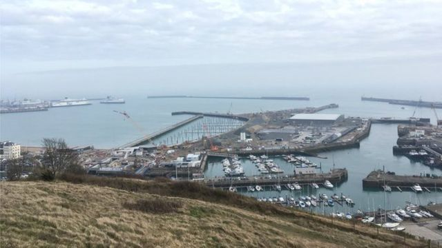 Migrants brought ashore to Dover as boat found