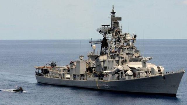 2016年5月印度派遣4艘军舰在中国同东南亚多国有主权争议的南海巡航长达3个月,之后中印两国关系继续恶化。