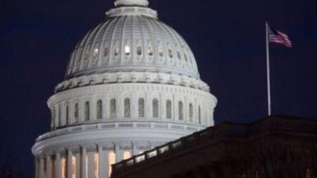 مبنى الكونغرس في واشنطن