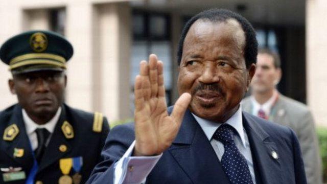 Le Chef de l'Etat, Paul Biya a demandé aux camerounais de faire preuve de courage face à la tragédie liée au déraillement d'un train de la Compagnie Camrail