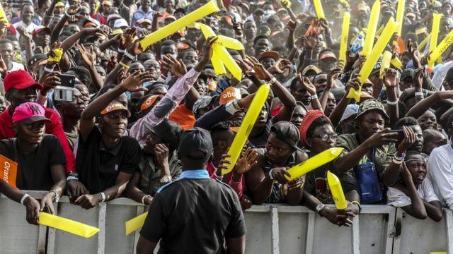 Le Festival Amani est populaire à Goma et dans la région des Grands Lacs.