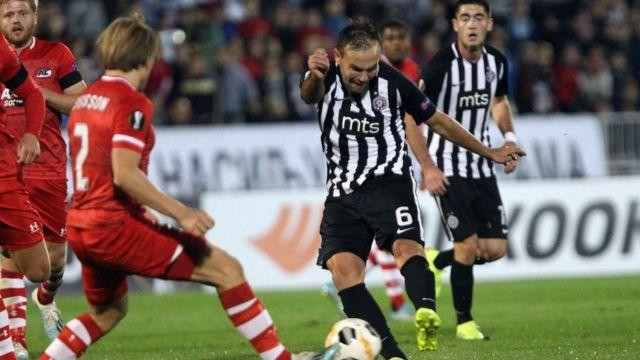 Izraelac Bibras Natho jedan je od najvažnijih fudbalera Partizana ove sezone