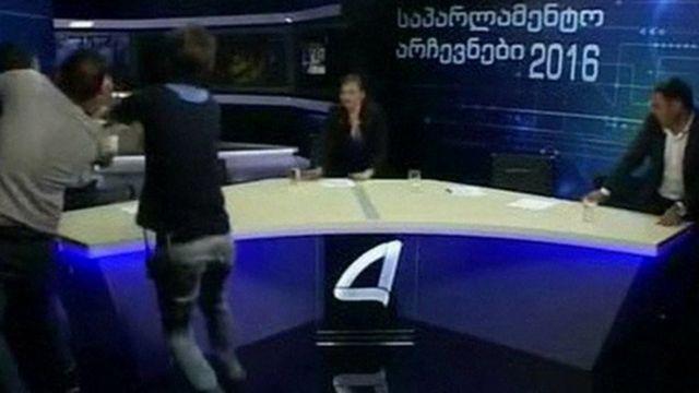 Politicians fight on Qvemo Kartli
