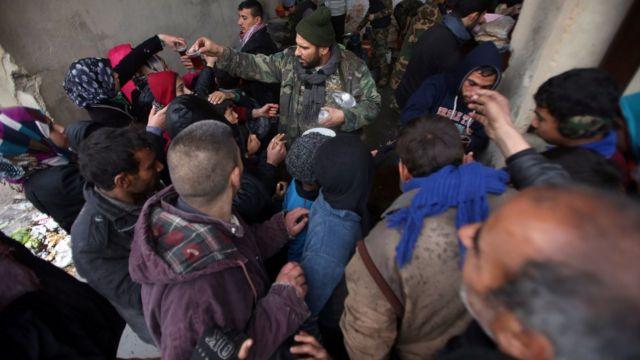 الفارون من حلب
