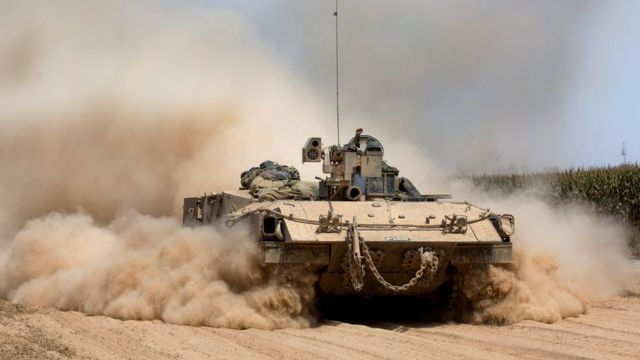دبابة إسرائيلية