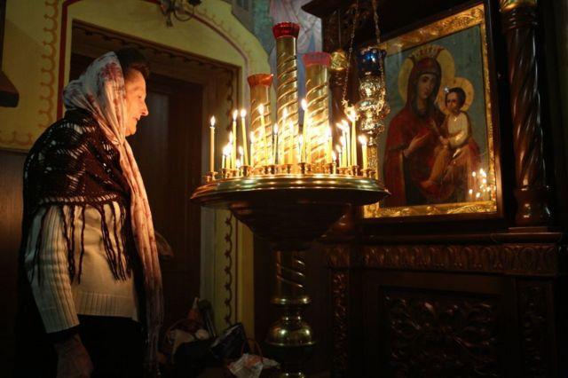 Церковь в Донецке