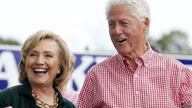Los Clinton se conocieron en Yale en 1973 y se casaron en 1975.