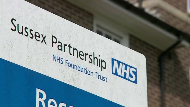 Sign for Sussex Partnership NHS Foundation Trust