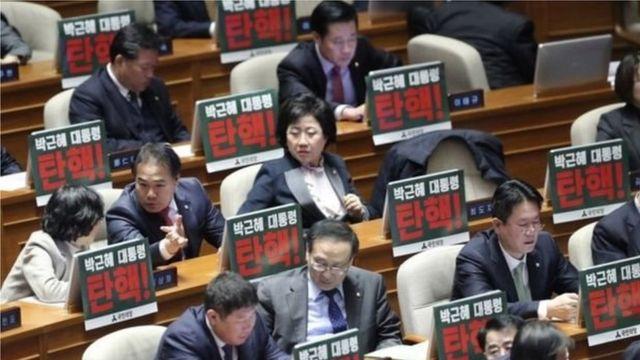 Des députés sud-coréens