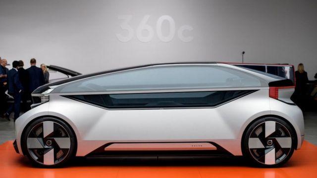 کانسپت 360c ماشینی هماندازه شاسیبلند بزرگ ولوو XC90 است