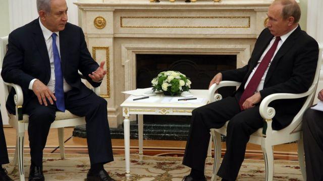 بوتن ونتنياهو