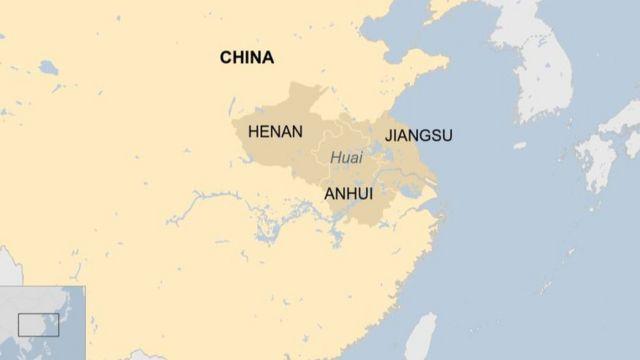 Trung Quốc thường bị lũ lụt trong những tháng hè vào mùa mưa.