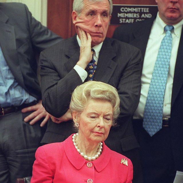 Phyllis Schlafly en un evento del Eagle Forum en el 2000.