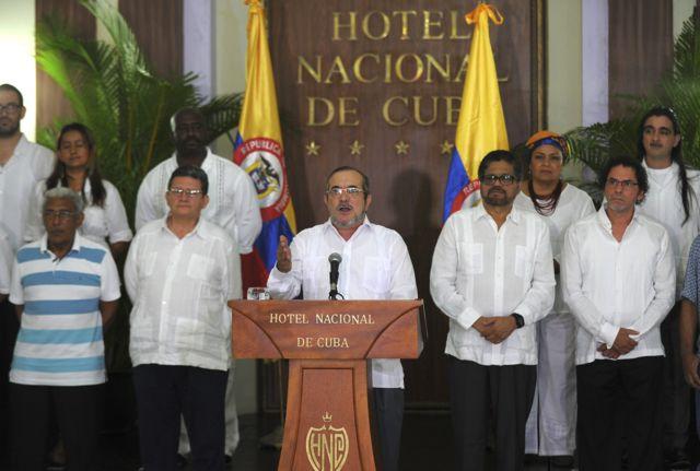 La dirigencia de las FARC.
