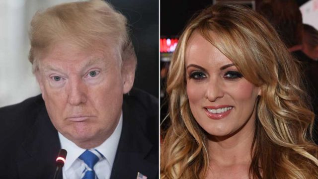 Stormy and Trump