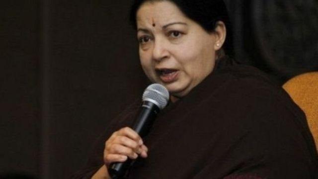 तमिलनाडु की मुख्यमंत्री जयललिता