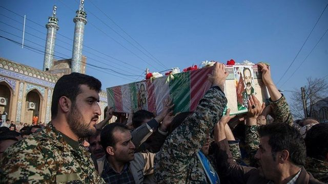 تشییع جنازه در مشهد
