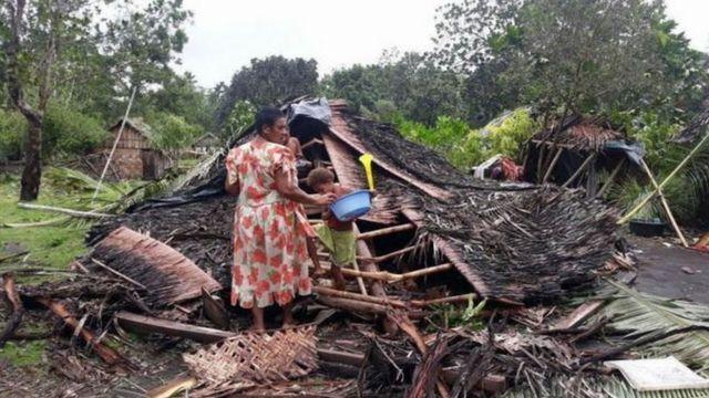 Harold kasırgası Nisan ayında Vanuatu'ta büyük yıkıma yol açmıştı