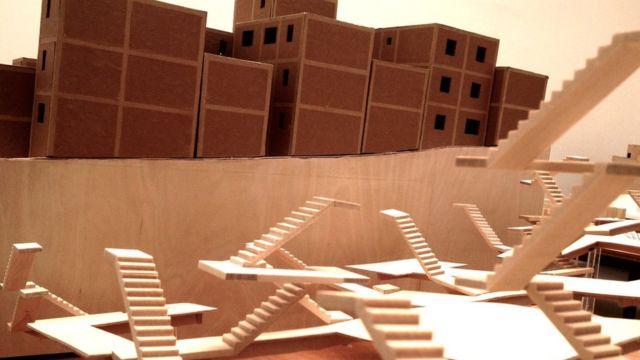 Maquete do projeto Porto Seguro