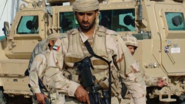 UAE Special Forces at Bagram, Afghanistan, 2008