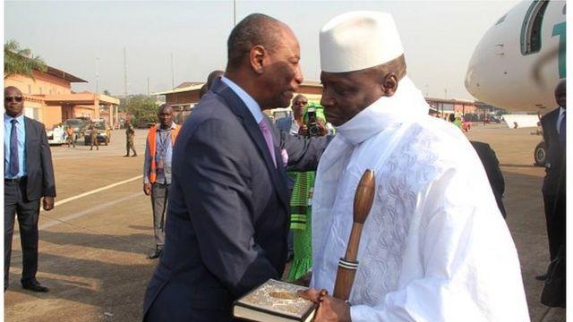 yahya jammeh, alpha condé, mohamed ould abdel aziz