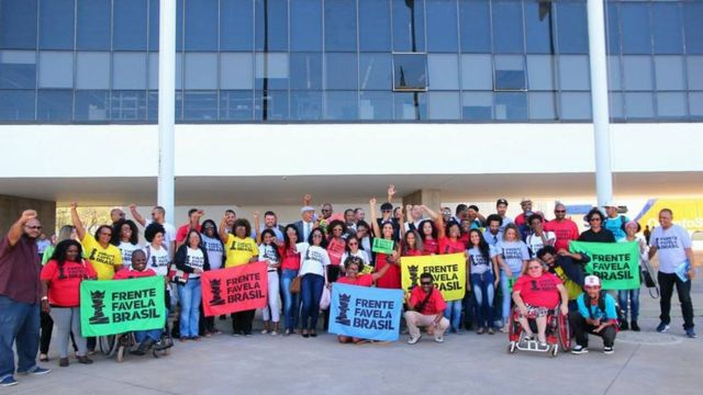 Foto feita quando a Frente Favela Brasil pediu registro como partido no TSE, processo ainda não concluído.