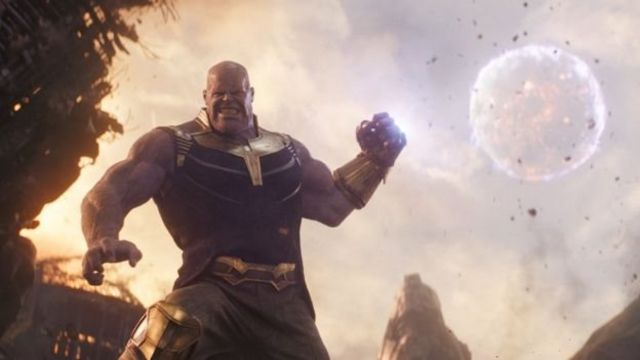 Thanos for Infinity War