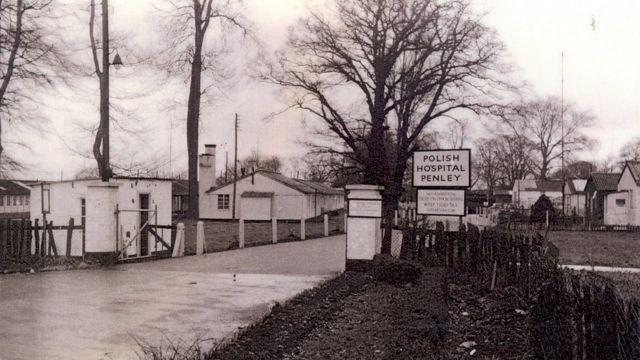 Penley Hospital: Wrexham village once a 'Polish wonderland'