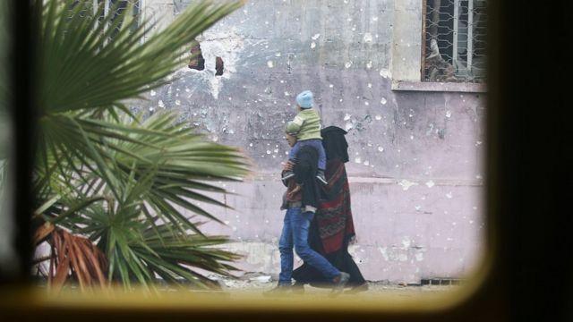المدنيون في شرق حلب