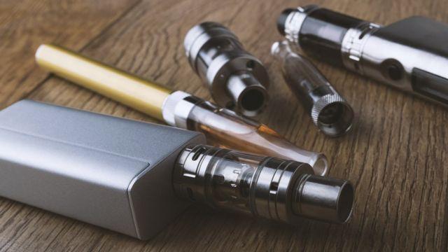 разобранная электронная сигарета