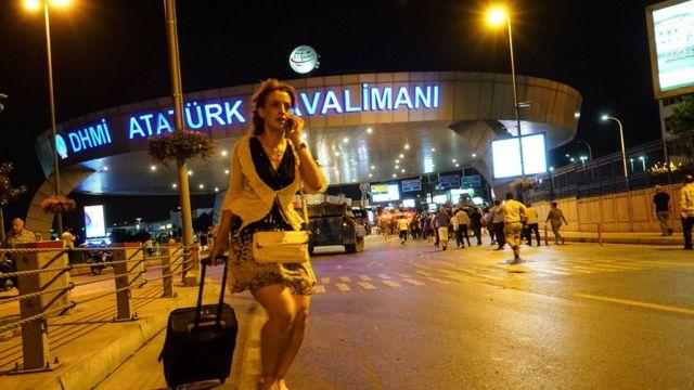 Aeropuerto internacional Ataturk de Estambul