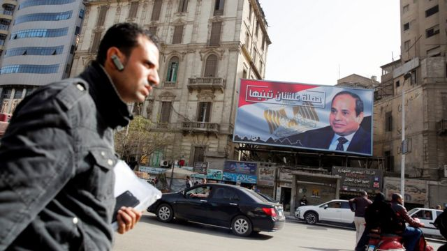 An election poster for President Sisi