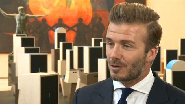 David Beckham I Wasnt World Class Bbc News