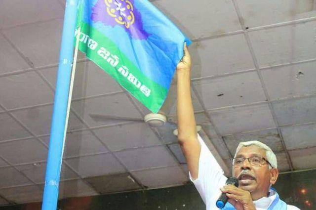 తెలంగాణ జన సమితి(టీజేఎస్) అధ్యక్షుడు ఎం.కోదండరాం