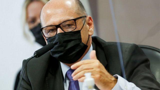 Dimas Covas em depoimento à CPI