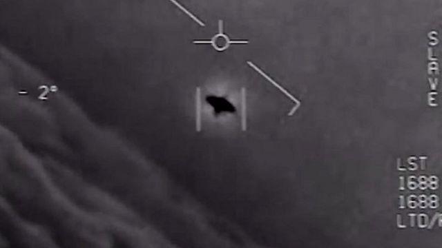 Imagem de radar mostra um objeto voador não-identificado