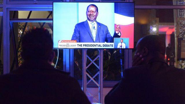 Kenya présidentielle 2017, Raila Odinga