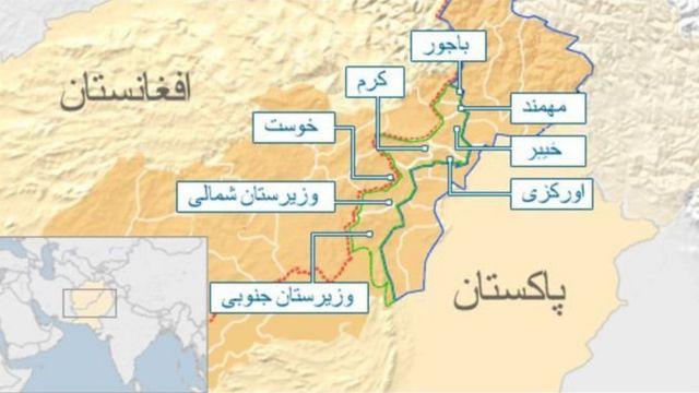 منطقه قبیله ای پاکستان